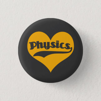 Love Science Physics 3 Cm Round Badge