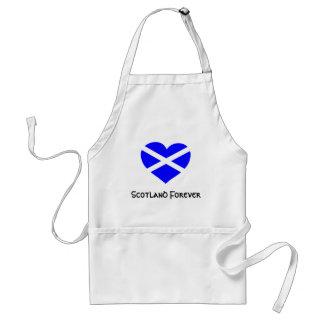 Love Scotland apron