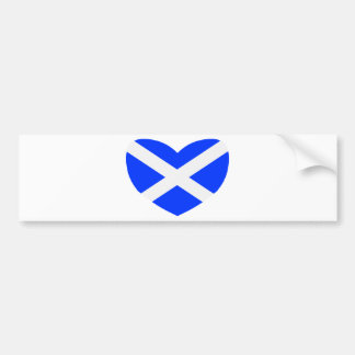 Love Scotland Bumper Sticker
