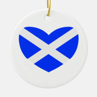 Love Scotland Christmas Ornament