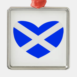 Love Scotland Christmas Ornament