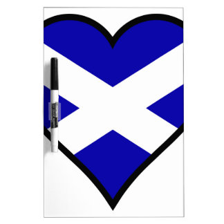 Love Scotland Dry Erase Board