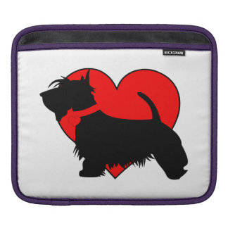 Love Scottie dog Rickshaw iPad sleeve