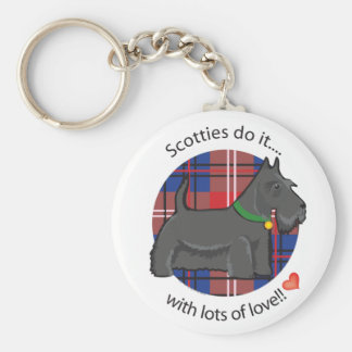 Love Scottie Key Chains
