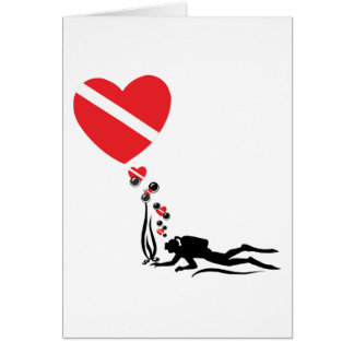 Love SCUBA Card