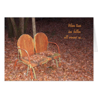 Love Seat: A Love Note Card