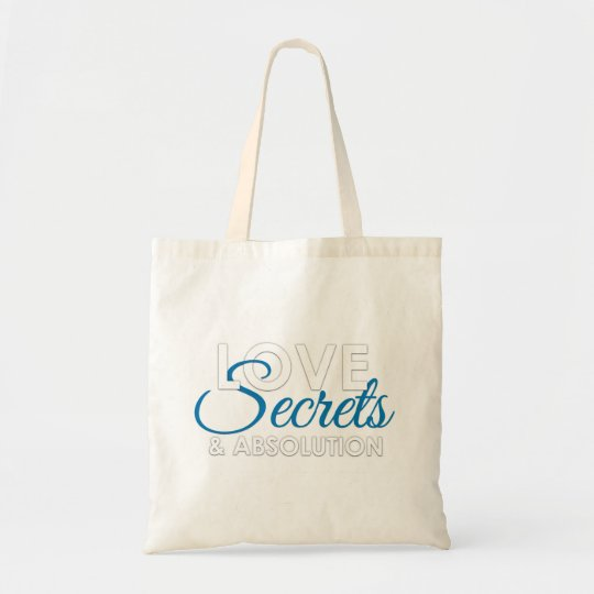 Love, Secrets, and Absolution book bag