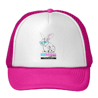 Love sees mines with - with personalized message trucker hat