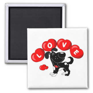 Love (Shadow) Square Magnet