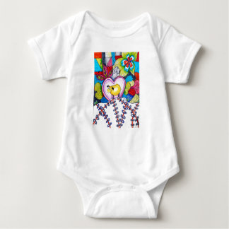 Love sheep baby baby bodysuit