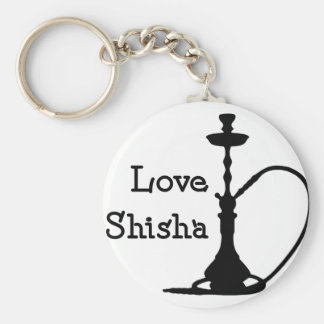 Love Shisha Key Ring