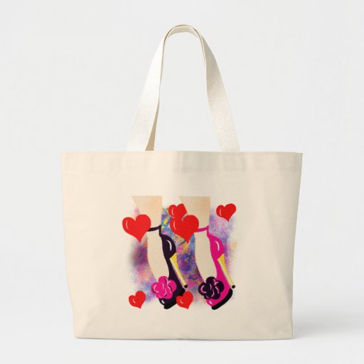 Love Shoes - Fun Lesbian Gifts &  Accessories Canvas Bags