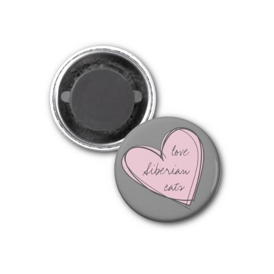 Love Siberians Magnet