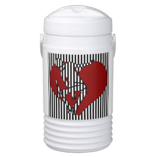 Love Skating - Silhouette Drinks Cooler