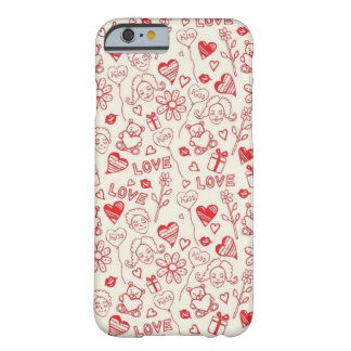 Love Sketch Barely There iPhone 6 Case