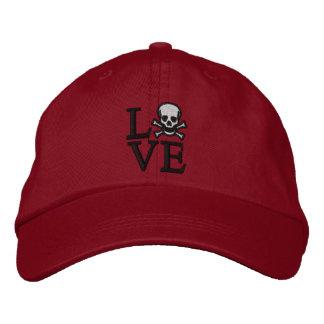 Love Skull Cap Baseball Cap