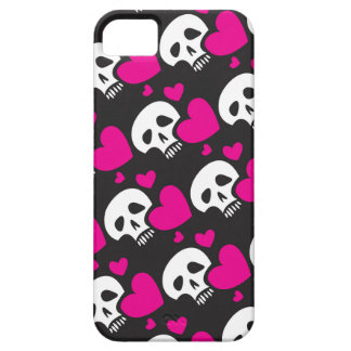 Love Skull Pattern iPhone 5 Cover