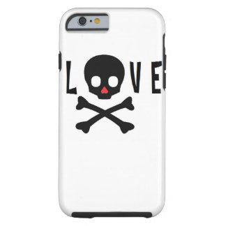 Love Skulls and Bones Tough iPhone 6 Case