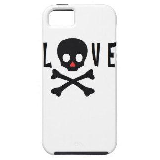 Love Skulls and Bones iPhone 5 Cover
