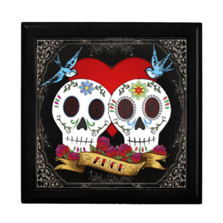 Love Skulls Jewelry Box