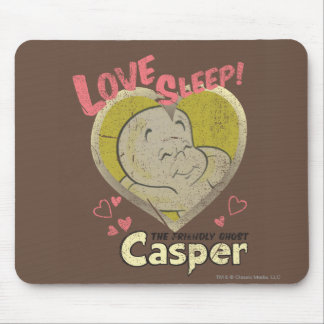 Love Sleep Mouse Pad
