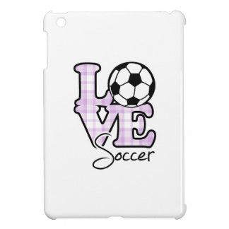 Love Soccer iPad Mini Covers