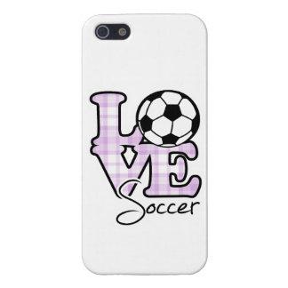 Love Soccer iPhone 5/5S Case