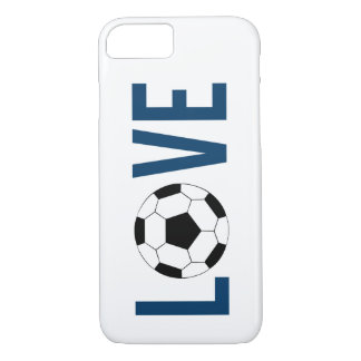 Love Soccer iPhone 7 Case