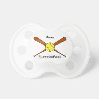 Love softball add name sporting dummy
