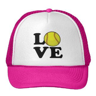 Love Softball Cap