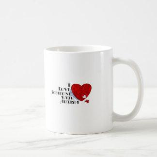 Love someone with Autism Mug