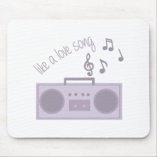 Love Song Mousepads