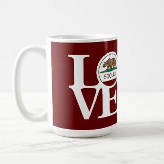 LOVE Soquel 15oz Red Mug