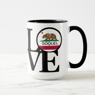 LOVE Soquel California 15oz Coffee Mug
