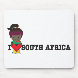 Love South Africa Mouse Pad