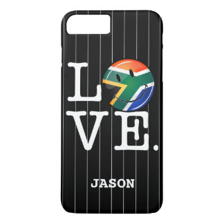 Love South Africa Smiling Flag iPhone 7 Plus Case