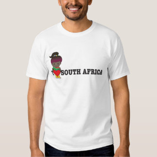Love South Africa T Shirts
