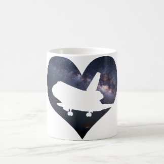 Love Space Shuttle Mug