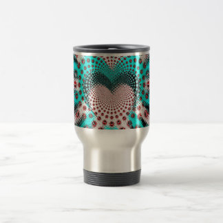 Love Spikes Hypnotic 15 Oz Stainless Steel Travel Mug