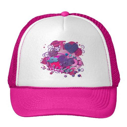 Love Splat Hats