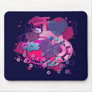 Love Splat Mousepad