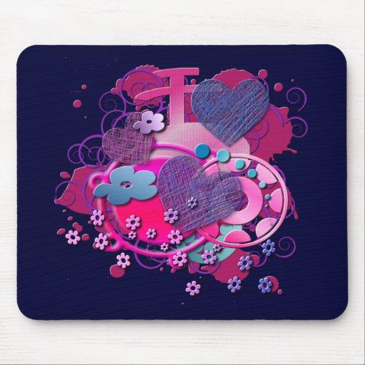 Love Splat Mousepad