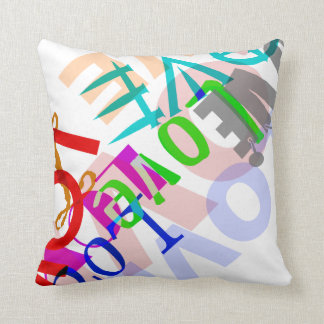 Love Square Pillow Cushions