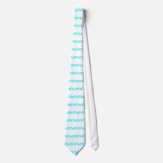 Love Squared in Light Blue Tie