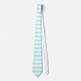 Love Squared in Light Blue Tie