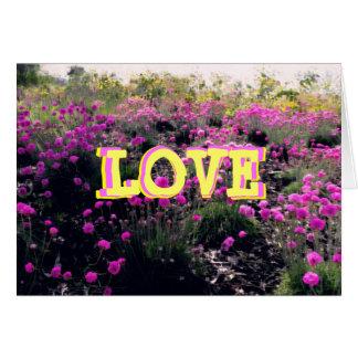 LOVE - St. Valentine's Day Card