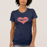 Love statistics tee shirt