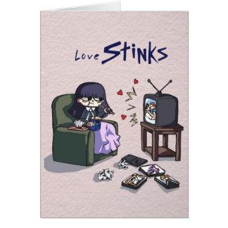 Love Stinks  card