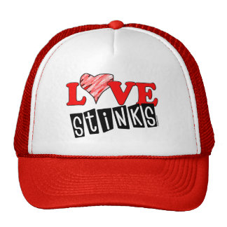 Love Stinks Hats for Valentine's Day