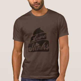 Love Stinks poo T Shirts